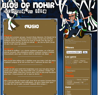Blog of nohir